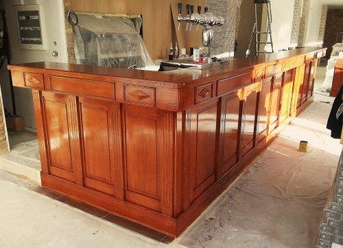 Nos ateliers - Fabrication d un bar en bois ...