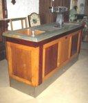 Meubles encastr s comptoir de bar ancien occasion - Comptoir de bar professionnel occasion ...