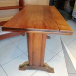 Lot de 2 tables anciennes de bistrot